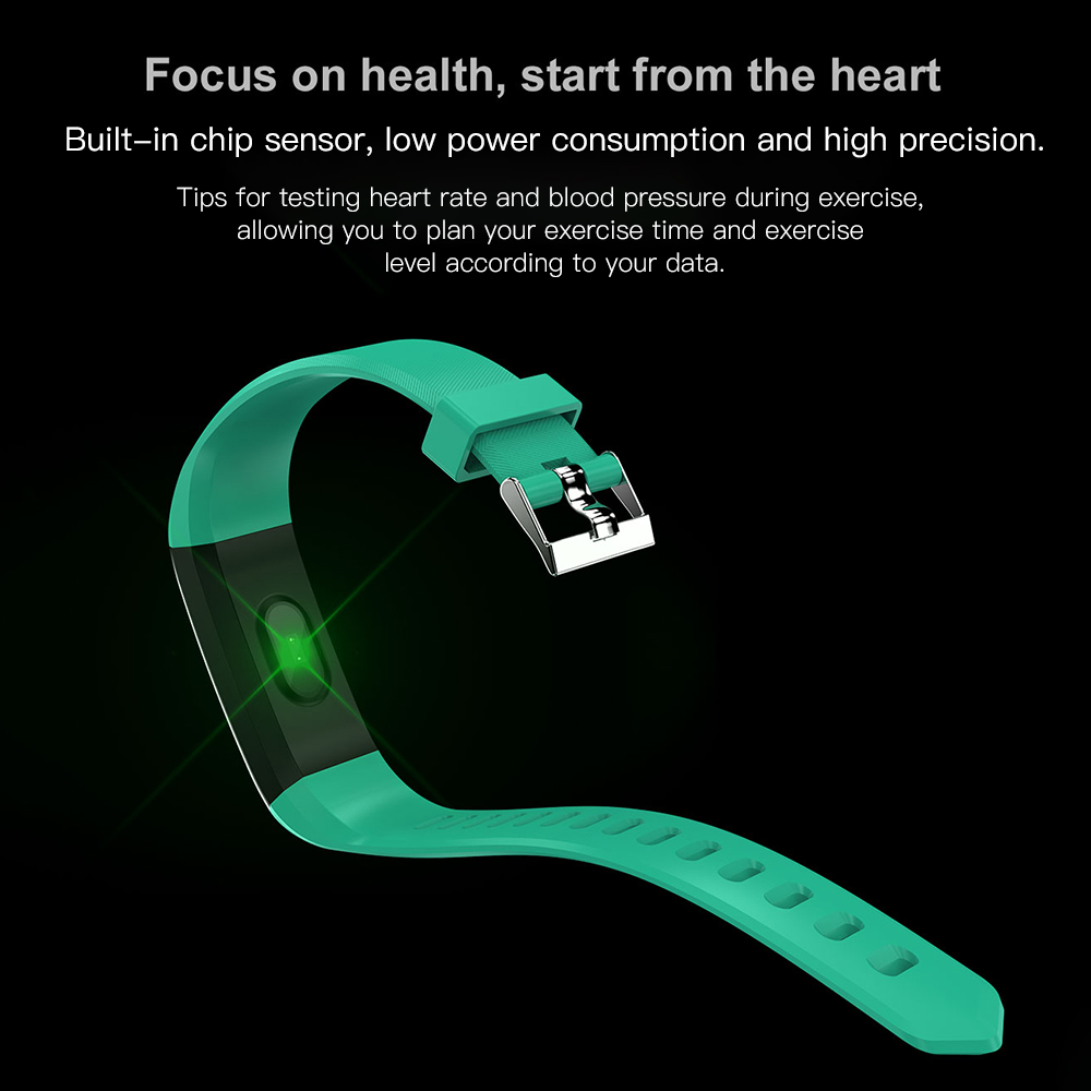 Hf1169335a961447b9ca708153c780e9fb VIKEFON Smart Bracelet id115 plus Color Screen Sport Pedometer Watch Smartband Fitness Traker Bluetooth Waterproof Smart Band