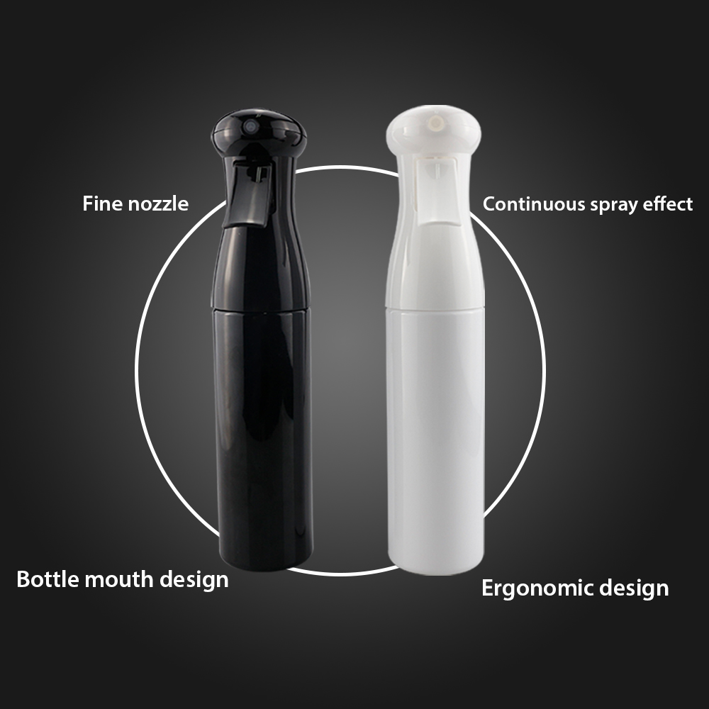 300ml hairdressing spray garrafa vazia solução recarregável