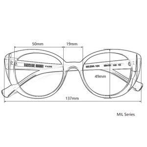 Image 2 - Frauen sonnenbrille paris mode Italien acetat 100% UV schutz