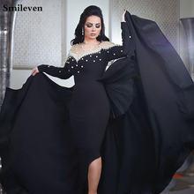 Пикантное вечернее платье smileven платья в арабском стиле для
