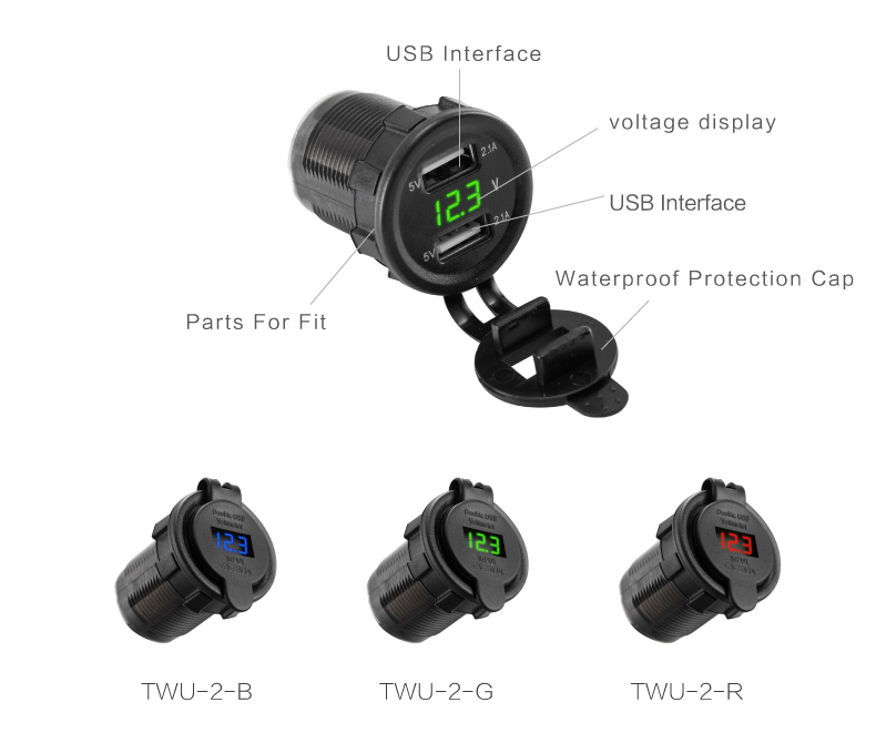 Car USB Port Charger 11