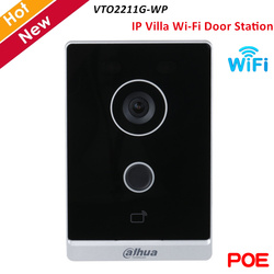 Dahua Mini Poe Video Intercoms Wifi Outdoor Station Twee-weg Audio En Voice Draadloze Netwerk Ip Villa Deur Station VTO2211G-WP