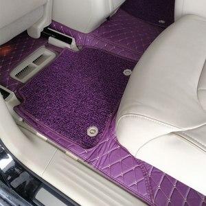 Image 5 - Dywaniki samochodowe do Mercedes Benz Viano A B C E G S R V W204 W205 E W211 W212 W213 S klasa CLA GLC ML GLA GLE GL GLK dywan samochodowy