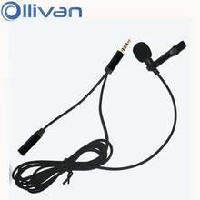 Lavalier Handy Webcast Mikrofon Mini Mikrofon Lavalier Omnidirektionale Kondensator Aufnahme Mikrofon für handy pc