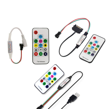 Led-Strip-Light WS2812B Remote-Controller USB RF DC for Ws2812b/Sk6812/Pixels/Full-color
