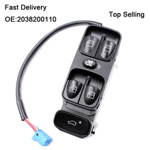 Best Quality ! OEM A2038210679 New Power Window Switch for MERCEDES W203 C-CLASS C320 Front left