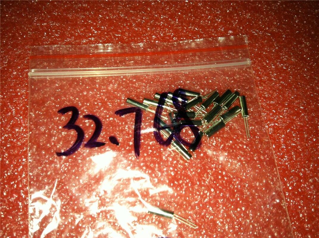 100pcs NEW Crystal 32.768 kHz 32.768KHZ 32.768k Hz Cylinder 3 x 8 mm