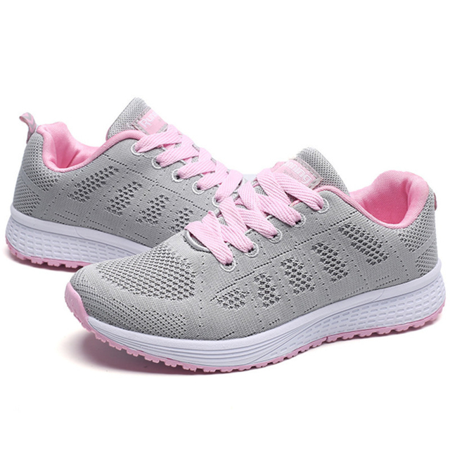 Casual Shoes Woman Air Cushion Breathable Walking Shoes For Women Outdoor Summer Sneakers Women Hiking Jogging Trainers Boots 4