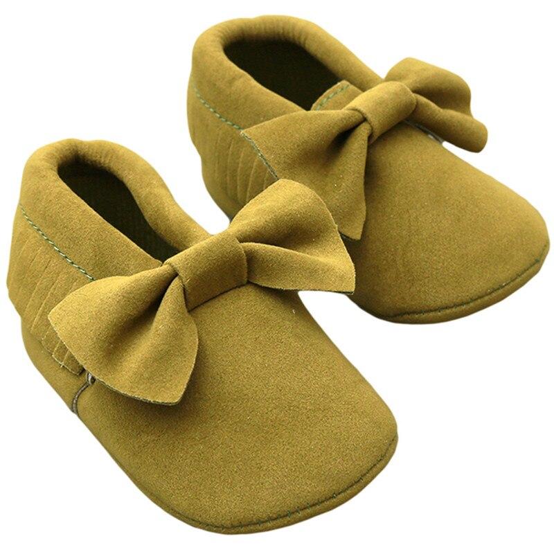 Обувь для малышей 0-18 месяцев; Мокасины с кисточками и бантом; обувь на мягкой подошве для маленьких мальчиков и девочек; обувь для малышей;