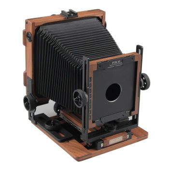 "Brand New PTB45 Shen Hao Walnut Wood Field Folding 4X5"" Large Format Camera"