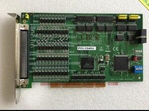 PCI 1240U 4 Axis Universal PCI Stepping/Pulse Servo Motor  Motion Control Card|Remote Controls|Consumer Electronics -