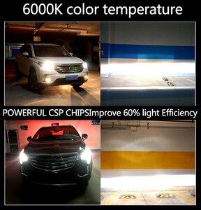 Image 5 - PANDUK LED פנס CSP 16000LM H4 H7 LED H1 H3 H8 H11 LED 3000K 4300K 6000K 8000K 9005 LED 9006 HB3 HB4 881 רכב אור 50W 12V