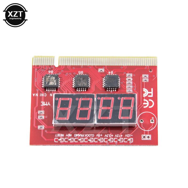 Placa base de ordenador de 4 dígitos, Mini PCIE LPC, tarjeta de poste de eliminación de insectos, Digital, PCI, PCI E, pantalla LED, probador, tarjeta de prueba, PC de escritorio Tarjetas adicionales  - AliExpress