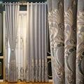 Роскошные шенильные занавески, китайские затемненные вышитые занавески с вырезами для гостиной, столовой, спальни