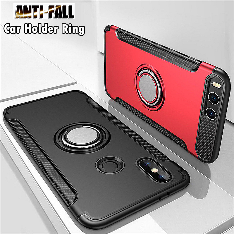 Anti Shock Case For Honor 20 10 9 8 Lite 20S 8X 7X Play View 30 Pro 20 10 Magnet Ring Case Cover For Huawei P40 30 20 Lite Pro