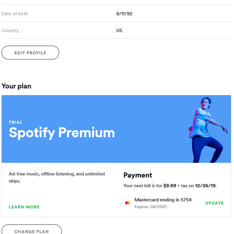 1 Year Spotify Premium service Time TIDAL HIFI High-end Non-destructive Music Official Master Offline Listening Music Player