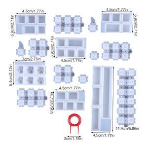 Image 5 - クリスタルエポキシひょうたんシリコンモールド diy 手作りジュエリー三次元ひょうたんビーズペンダントエポキシ金型ジュエリーメイキング