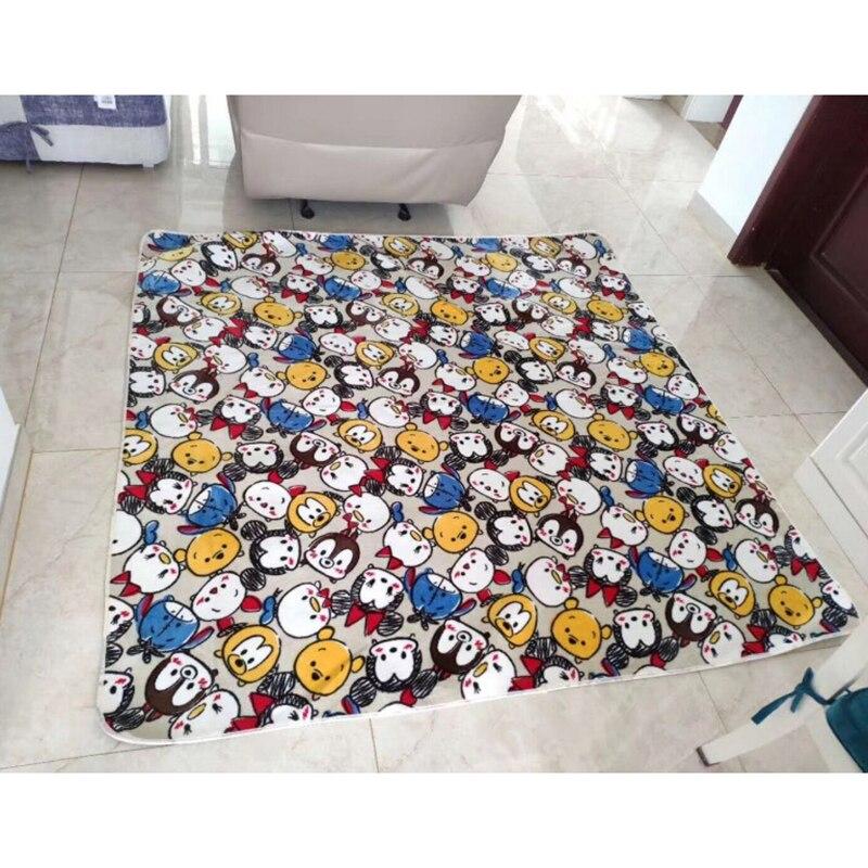 Disney dessin animé Mickey Mouse TUSM tapis de porte enfants garçons filles tapis de Camp enfants chambre cuisine tapis intérieur tapis tapis cadeaux
