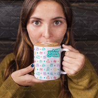 Animal Crossing New Horizons 재미 있은 참신 여행 머그잔 11oz 세라믹 화이트 커피 차 우유 컵 컵 선물|머그잔|홈 & 가든 -