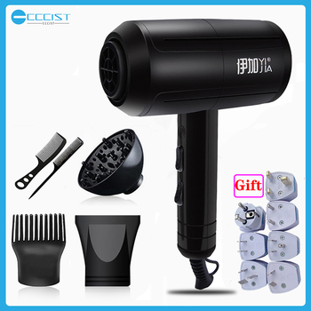 YIJIA 2200W Professional Portable Mini Hair Dryer For Hair Blow Dryer Hair Professional Brush Hairdryer Machine Travel Hairdryer 2200w power hair dryer professional salon blow dryer 2200w hairdryer styling tools salon household use hairdresser blower hair