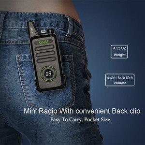 Image 5 - WLN KD C1 plus UHF 400 470MHz MINI ręczny nadajnik fm KD C1plus dwukierunkowy Radio Ham komunikator Walkie Talkie z scrambler