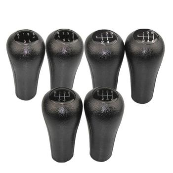 5 / 6 Speed Gear Shift Knob Car Shifter Stick for BMW 1 3 5 6 Series E46 E60 E61 E63 E65 E81 E82 E83 E87 E90 X1 X3 X5 Handball image
