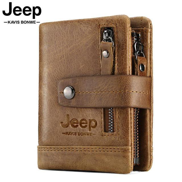 HUMERPAUL portefeuille en cuir véritable mode hommes porte monnaie petit porte cartes portefeuille Portomonee homme Walet pour ami sac dargent