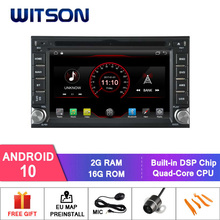 WITSON Android 10 car dvd player For NISSAN QASHQAI/Tiida 2G RAM 16GB ROM mirror link Built-In WiFi Module 1080P HD Video