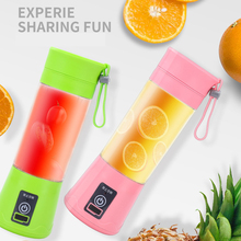 Portable Mini Household Juicer Multifunctional Juicer Four Leaf Electric Juicing Cup Wholesale Food Blender