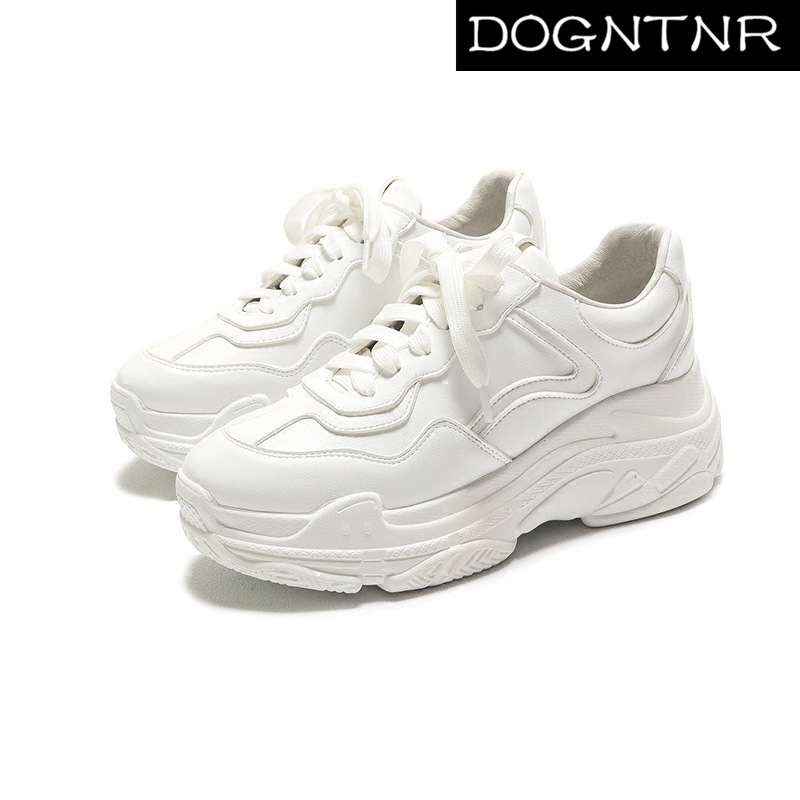 2020 Summer New White Mesh Ladies Sneakers Fashion Platform Sneakers Women Platform Sneakers Casual Shoes Zapatos De Mujer