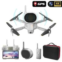 RCtown Gw90 With 4k Gps Drone Aerial Photography Hd Professional With speaker Long Battery Life Four axis Folding Drone #0706