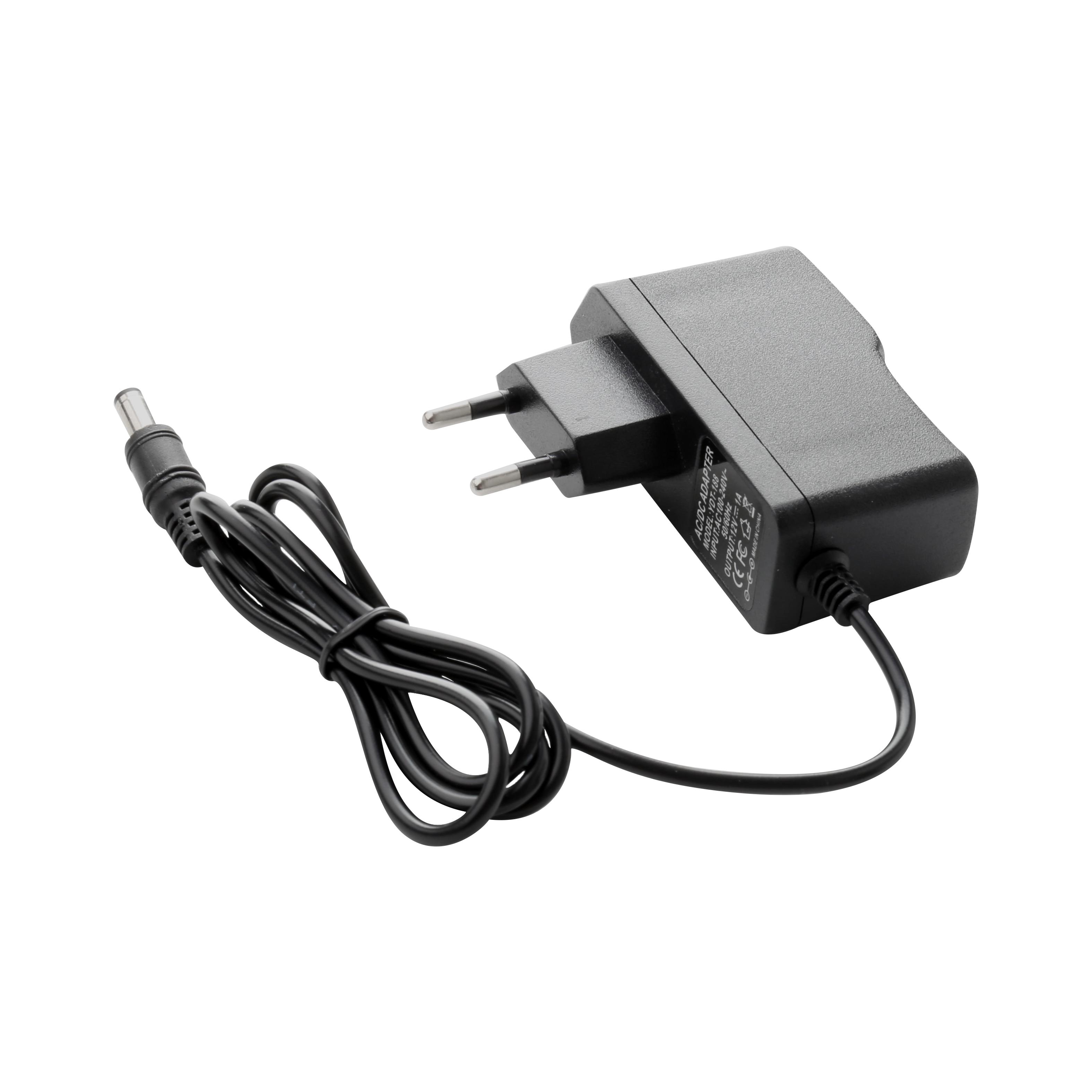 AC100V-240V Power Adapter DC12V 1A Output Power Adaptor Charger 50/60HZ DC 5.5mm X 2.1mm EU/AU/UK/US Plug For CCTV Camera