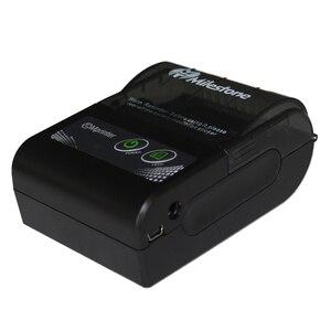 Image 5 - Milestone Bluetooth Thermische Printer Ontvangst Factuur 58Mm Mini Usb Draagbare Draadloze Ticket Android Ios Pocket Printer P10