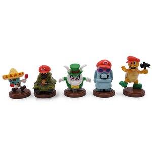 Image 3 - Gorące zabawki 15 sztuk/zestaw 3 7cm Mario Bros rysunek Luigi Yoshi pcv Action figurki zabawki lalki Mario brzoskwinia księżniczka grzyb prezenty dla dzieci