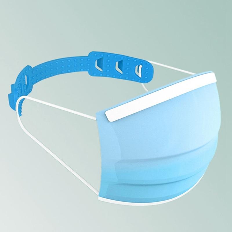 Third Gear Mask Holder Soft Plastic Buckle Hooks Ear Mask Hooks Adjustable Headwear Accessories Adult Child Ear Protector