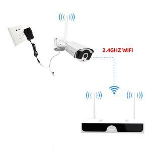 Image 5 - JOOAN CCTV מצלמה 1536P IP אלחוטי מצלמה 8CH NVR 4 מצלמות עבור Wifi מצלמה אבטחת מערכת אודיו החוצה מצלמה