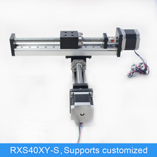 Gantry Cross CNC Linear Module Guide Ball Screw Rail Motion Actuator XY Stage Slide Table Workbench Robotic Arm Kit