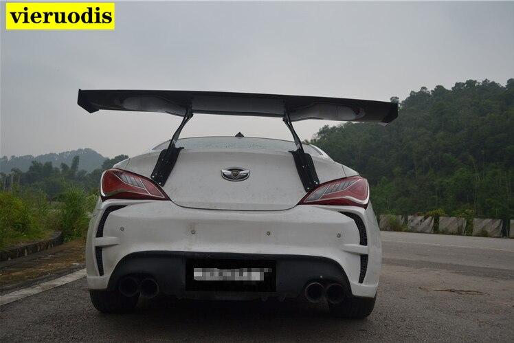 For Hyundai Genesis Rohens Coupe 09 Carbon Fiber Rear Window Roof Spoiler wings