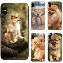 Shibainu Dog TPU Stylish Case For Galaxy A3 A5 A6 A6s A7 A8 A9 A10 A20E A30 A40 A50 A60 A70 A80 A90 Plus 2018(China)