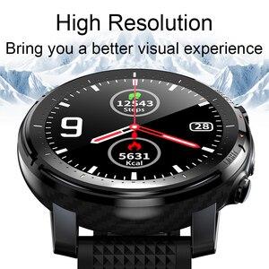 Image 2 - LIGE 2021 IP68 Waterproof Smart Watch Men ECG Heart Rate Blood Pressure Monitor LED Flashlight 1.3 Full Touch Screen smartwatch