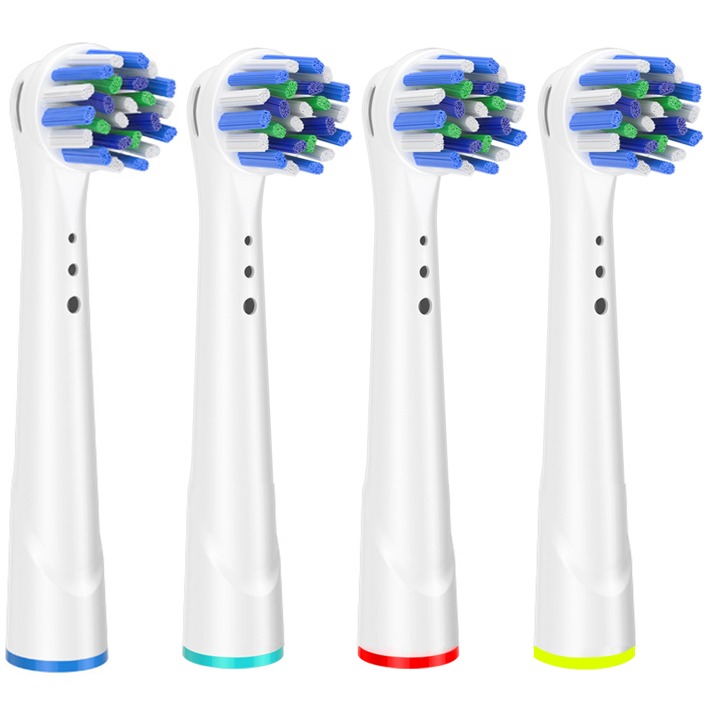 replacement brush heads for Oral B electric toothbrush before power/Pro health/Triumph/3D Excel/clean precision vitality image