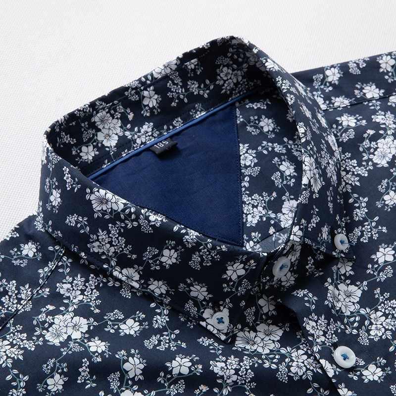 8xl duże rozmiary męskie letnie koszule Bohe Vintage przyczynowe kwiatowe z krótkim rękawem pościel zwykła koszula bluzka topy Camisas Hombre Plus rozmiar