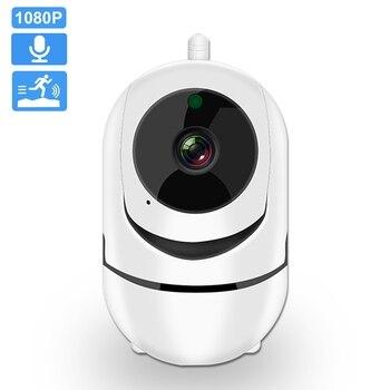 Kamera IP Wifi 1080P FHD PTZ automatyczne śledzenie bezpieczeństwo w domu kamera noktowizyjna dwukierunkowy Audio bezprzewodowy nadzór CCTV YCC36Plus