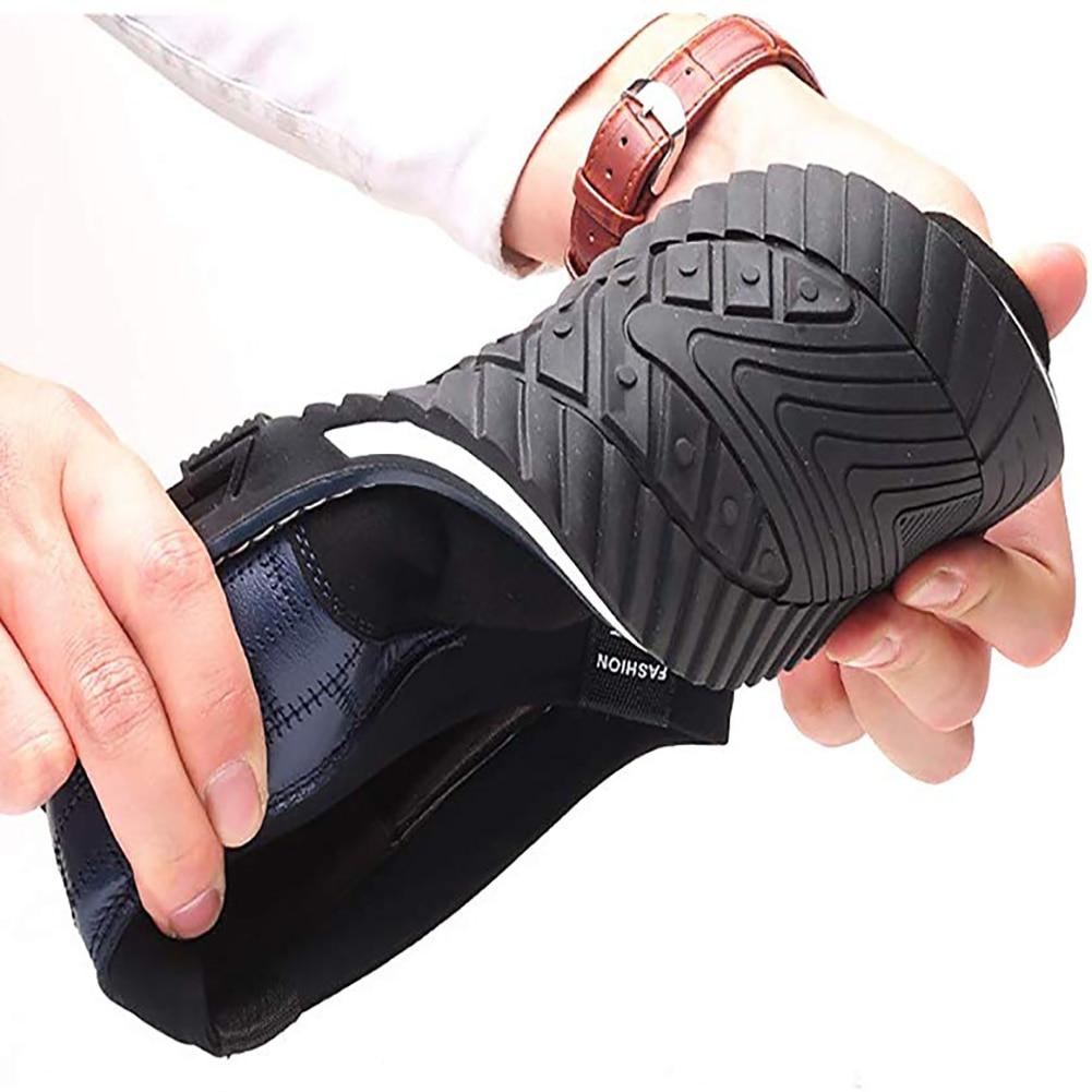 Image 3 - Оксфорды; кожаная мужская обувь; модная повседневная обувь без шнуровки; официальная обувь в деловом стиле; повседневная кожаная обувь для мужчин; Прямая поставкаПовседневная обувь   -