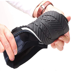 Image 3 - オックスフォードレザー靴ファッションでフォーマルなビジネスシューズのためのカジュアル革靴マンドロップシッピング