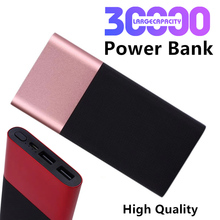Charger external battery Mobile Power Slim Mobile Power Portable External Battery 30000mAh Portable Phone External Battery Pack cheap NoEnName_Null Li-polymer Battery Support Quick Charging Waterproof Digital Display Charger Battery in 1 Double USB for Laptop