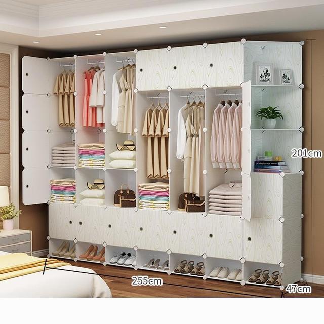 Wardrobe Credenza Storage Cabinet 6