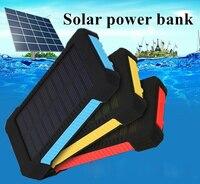 Banco de potência solor 30000 mah powerbank bateria externa móvel portátil carregador rápido display digital para todos os smartphones power bank