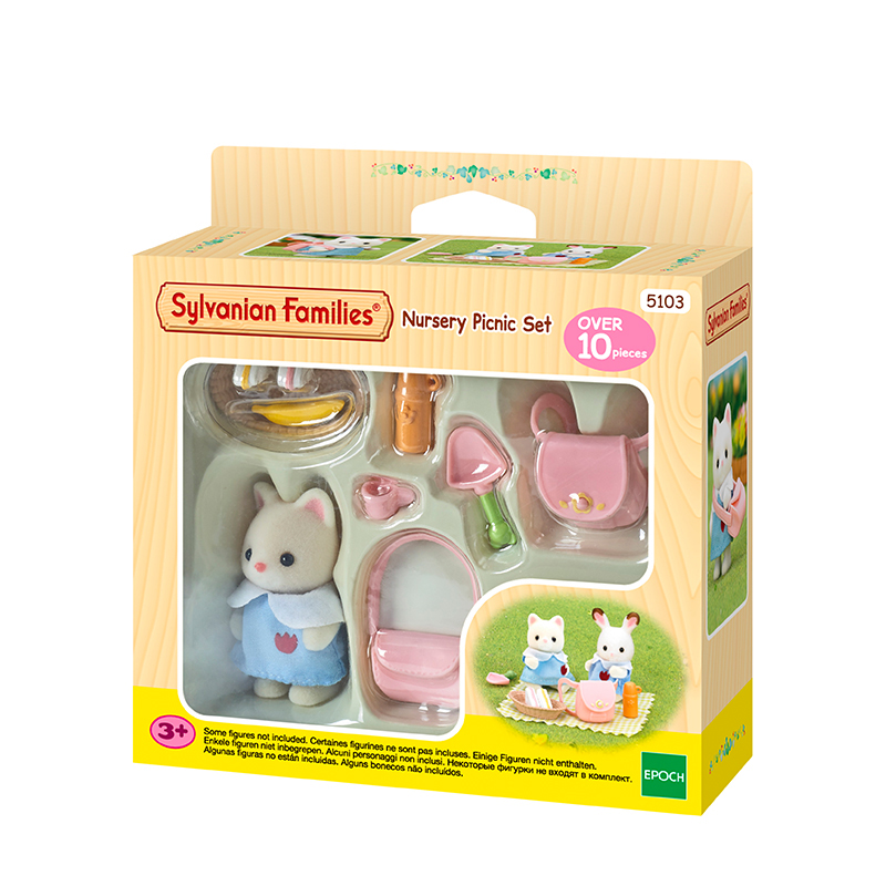 316 Epoch Sylvanian Families Furniture Accessory Set outing over