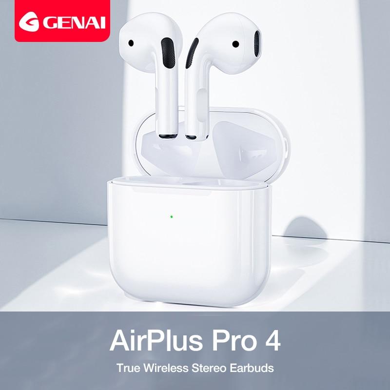 Bluetooth 5.0 True Wireless Earbuds with Charging Box Waterproof Earphone Volume Control Mini TWS Headphone Handsfree for Sports